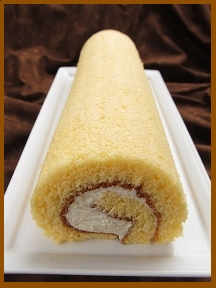 Roll Cake - before